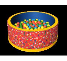 Сухой бассейн с шариками «Веселая полянка» - Игрушки в Симферополе