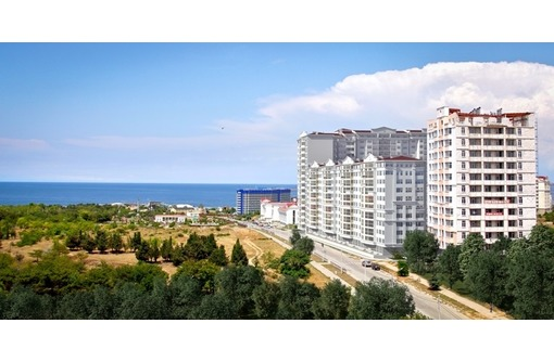 Парковая линия - Первая линия от дороги, Торговое-Офисное помещение, площадью 47 кв.м., фото — «Реклама Севастополя»