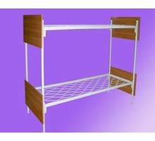 Кровати металлические двухъярусные для казарм, кровати для больниц, трёхъярусные кровати - Мягкая мебель в Крыму