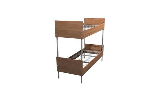 Кровати металлические двухъярусные для казарм, кровати для больниц, трёхъярусные кровати - Мягкая мебель в Алуште