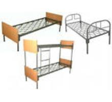 Кровати металлические для бытовок, кровати трёхъярусные для рабочих, кровати одноярусные оптом - Мягкая мебель в Джанкое