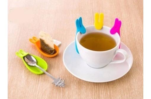 Держатель-блюдце чайных пакетиков, горячей посуды Кролик. 60руб. - Посуда в Севастополе