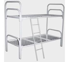 Кровати металлические двухъярусные для казарм, кровати трёхъярусные для строителей, кровати оптом - Мягкая мебель в Евпатории