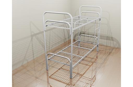Двухъярусные металлические кровати, трёхъярусные металлические кровати, кровати металлические оптом - Мягкая мебель в Феодосии