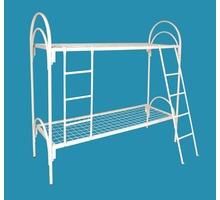 Армейские металлические кровати, двухъярусные кровати для детских лагерей, кровати металлические опт - Мягкая мебель в Ялте