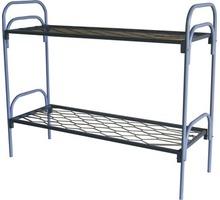 Железные двухъярусные кровати для бытовок, кровати для общежитий, кровати для интернатов - Мягкая мебель в Крыму