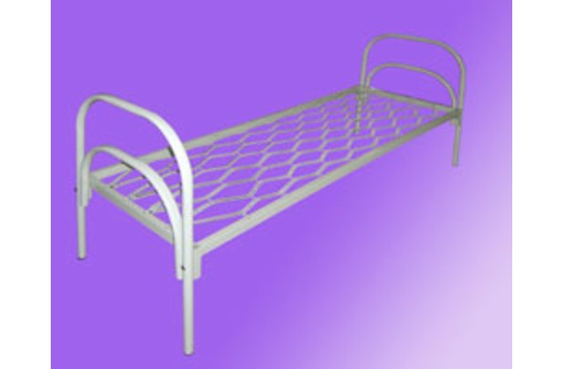 Металлические кровати с ДСП спинками для больниц, кровати для гостиниц, кровати для студентов., фото — «Реклама Евпатории»