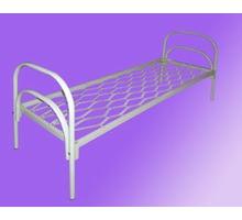 Металлические кровати с ДСП спинками для больниц, кровати для гостиниц, кровати для студентов. - Мягкая мебель в Евпатории