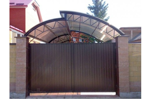 Ворота откатные автоматические, полуавтоматические, распашные - Заборы, ворота в Севастополе