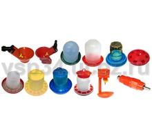 Поилки кормушки для перепелов куриц, бройлеров, индюков, уток - Продажа в Краснодаре