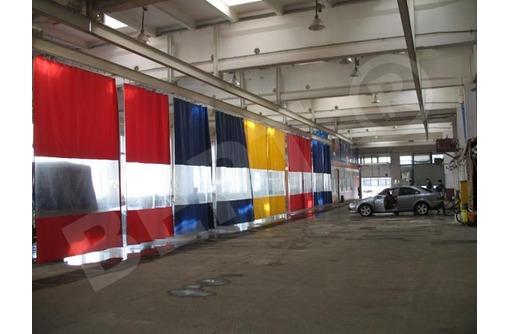 Шторы для автомойки из тента ПВХ - Услуги в Краснодаре
