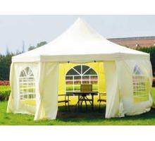 Каркасно-тентовые шатры для летнего кафе - Металлические конструкции в Краснодаре