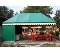 Палатки для летнего кафе каркасно - тентовые - Металлоконструкции в Кореновске