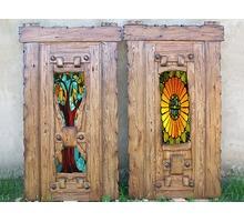 Двери с резьбой из массива дерева под заказ. - Окна в Краснодарском Крае