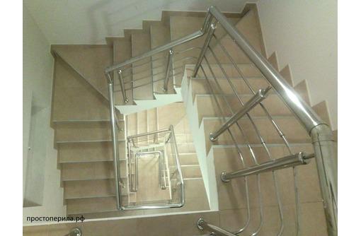 Перила и конструкции из нержавеющей стали: варианты от «эконом» до «премиум» - Лестницы в Армавире