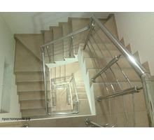 Перила и конструкции из нержавеющей стали: варианты от «эконом» до «премиум» - Лестницы в Краснодарском Крае