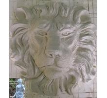 Барельеф головы льва для декора фасада и интерьера - Дизайн интерьеров в Краснодаре