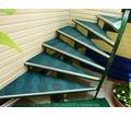 плитка резиновая высокопрочная для ступеней и пандуса - Лестницы в Краснодаре