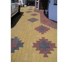 Резиновая плитка  -  для  пешеходных дорожек, садовых и дворовых дорожек, тротуаров. - Ландшафтный дизайн в Краснодаре