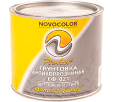 Грунтовка гф-021 серая, красно-коричневая - Лакокрасочная продукция в Краснодарском Крае