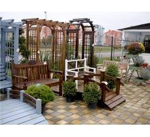 Садовая, уличная мебель из массива от Производителя. - Ландшафтный дизайн в Краснодарском Крае