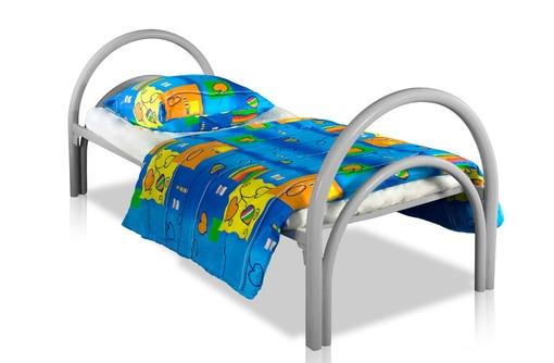 Одноярусные кровати металлические эконом класса в палаты больниц, клиник, госпиталей - Мягкая мебель в Анапе