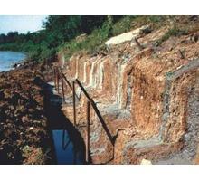 Берегоукрепление сваи в грунте - гидроизоляция - Строительные работы в Анапе