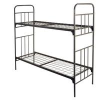 Двухъярусные кровати металлические, Кровати в летний лагерь, недорого - Мебель для спальни в Анапе