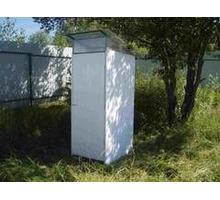 Туалет дачный с металлическим каркасом Апшеронск - Садовая мебель и декор в Краснодарском Крае