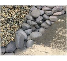 Купить отсев, гальку, булыжник, песок, щебень с привозом - Сыпучие материалы в Краснодаре
