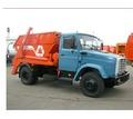 Вывоз строительного мусора бункером - Грузовые перевозки в Геленджике