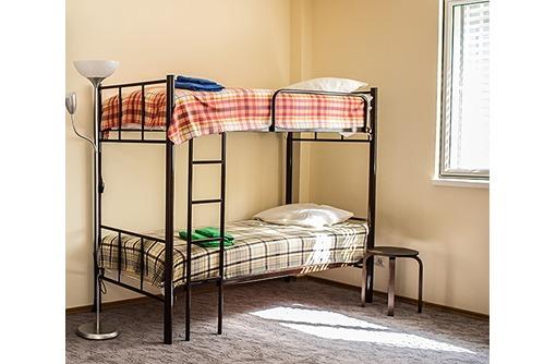 Кровати двухъярусные, односпальные для хостелов и гостиниц, фото — «Реклама Сочи»