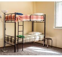 Кровати двухъярусные, односпальные для хостелов и гостиниц - Мебель для спальни в Краснодарском Крае