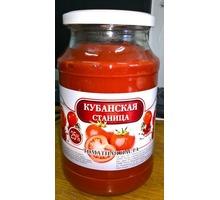 """Томатная паста """"Кубанстая станица"""" - Продукты питания в Краснодарском Крае"""