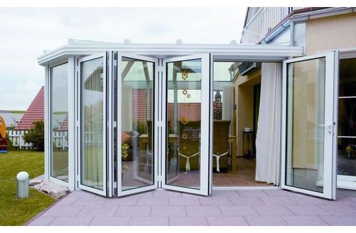Алюминиевые нестандартные окна и двери - Окна в Краснодаре