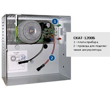Блок питания, производства Бастион СКАТ-1200Б, 12В, 1,3А, для видеокамер - Комплектующие и запчасти в Сочи