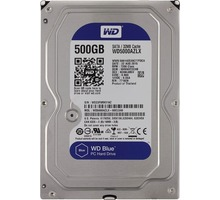 Жесткий диск  Western Digital Blue 500GB WD5000AZLX 3.5 SATAIII - Комплектующие и запчасти в Краснодаре