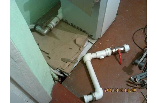 Монтаж автоном.отопления.Сантехник,водопров.канализац.теплые полыБурение бетон,отделка,электрик,ИДР - Газ, отопление в Краснодаре