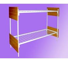 Кровати металлические двухъярусные усиленные с лестницей - Мебель для спальни в Краснодаре