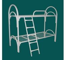 Кровати двухярусные с лестницами и поручнями в интернаты - Мягкая мебель в Краснодарском Крае