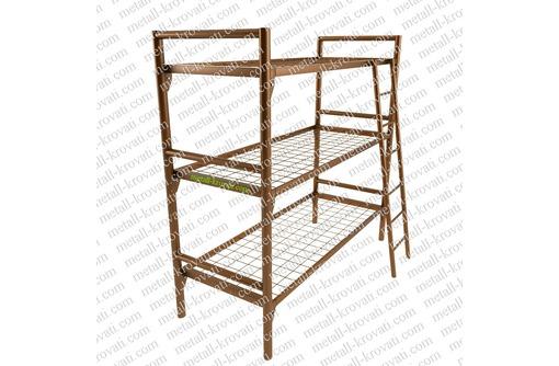 Кровати двухъярусные для рабочих по низким ценам кровати строителям - Мягкая мебель в Анапе