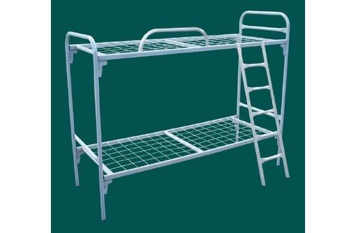 Кровати металлические в интернаты и детские лагеря оптом, фото — «Реклама Адлера»