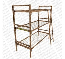 Металлические кровати для времянок и бытовок мелким оптом от производителя - Мягкая мебель в Курганинске