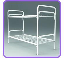 Кровати металлические двухъярусные разборные рабочим и солдатам - Мягкая мебель в Апшеронске