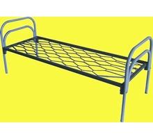 Кровати из металла для домов престарелых и пансионатов долговечные оптом - Мягкая мебель в Краснодаре
