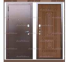 Входная дверь Максимус Дуб тёмный (имитация шпона) 90 мм Россия - Двери входные в Краснодаре