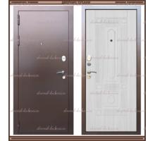Входная дверь Максимус Сандал белый 90 мм. Россия : - Двери входные в Краснодаре