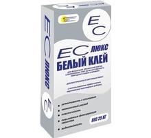 Клей ЕС-ЛЮКС  для мозаичной, прозрачной плитки, стеклоблоков, 25кг - Отделочные материалы в Краснодаре