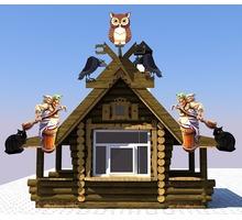 Изготавливаем деревянные киоски любой сложности - Строительные работы в Краснодаре
