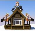 Изготавливаем деревянные киоски любой сложности - Строительные работы в Краснодарском Крае